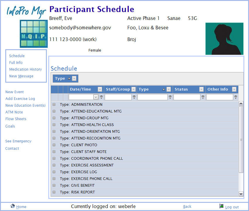 Organize Your Program Events With Custom Event Types  Maine Quality
